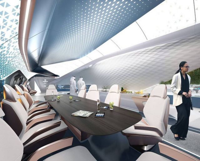 AMAC Aerospace and Pininfarina Cabin Concept