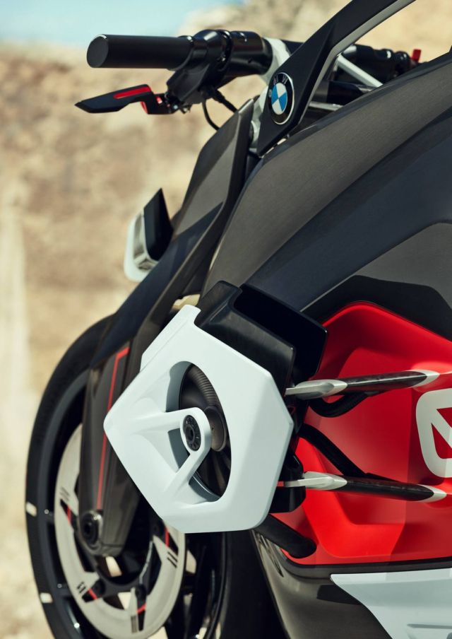 the BMW motorrad vision DC roadster is an emotional naked