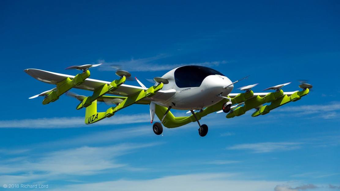 Boeing and Kitty Hawk form flying taxi Partnership