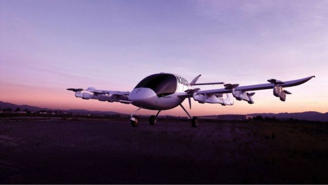 Boeing and Kitty Hawk form flying taxi Partnership (2)