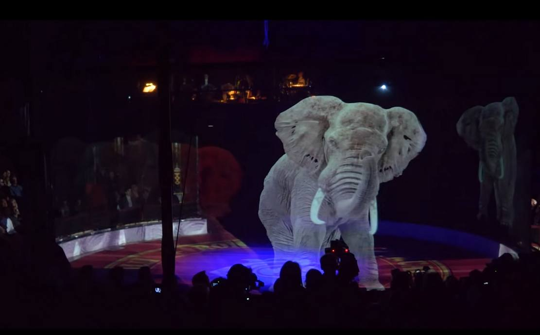Circus replaces Animals with Holograms