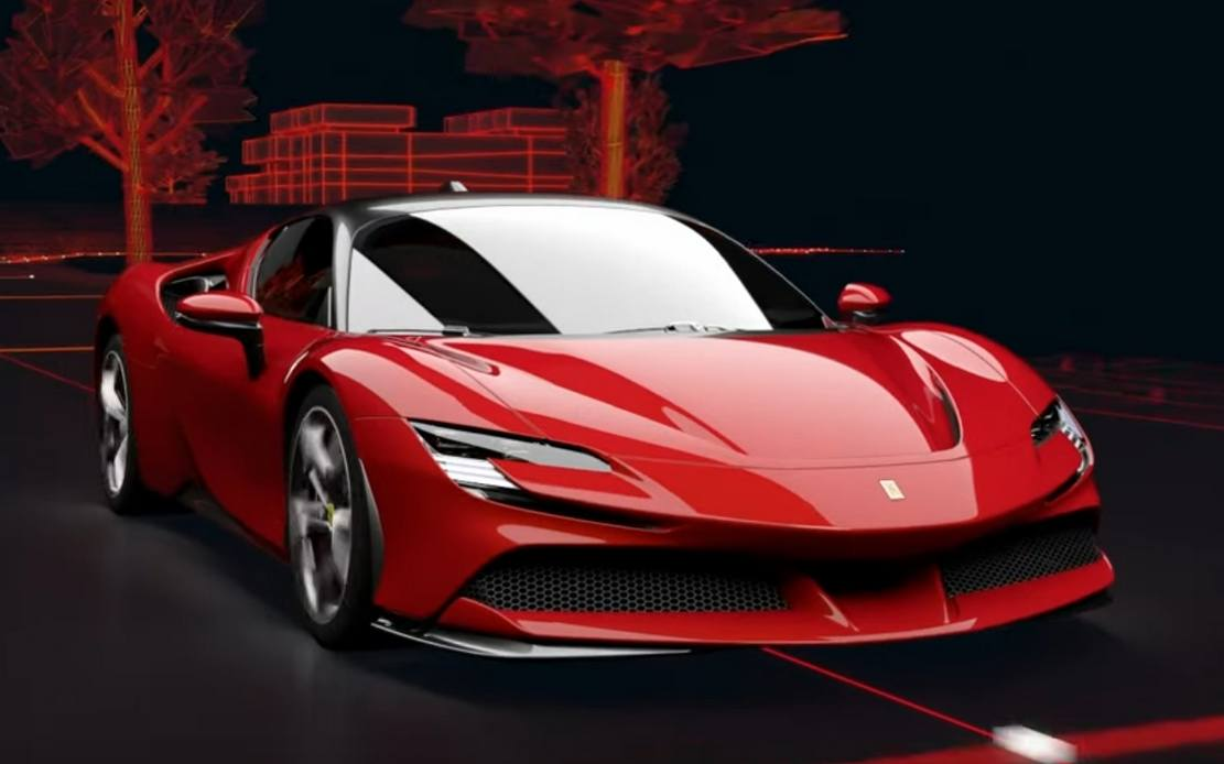 Ferrari SF90 Stradale Powertrain – video