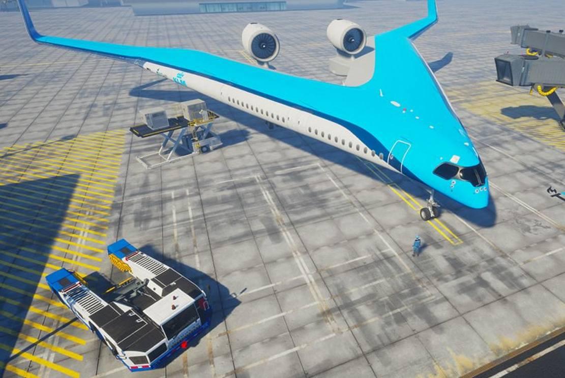 Flying-V Airliner concept (5)