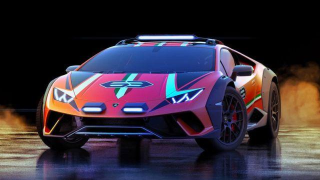 Lamborghini Huracan Sterrato Rally car (6)