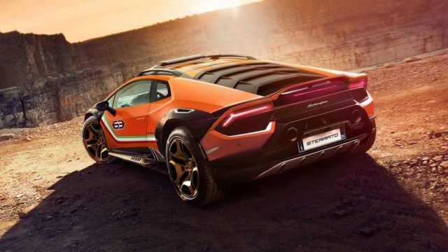 Lamborghini Huracan Sterrato Rally car (5)
