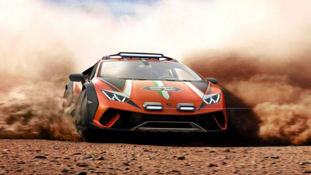 Lamborghini Huracan Sterrato Rally car (4)
