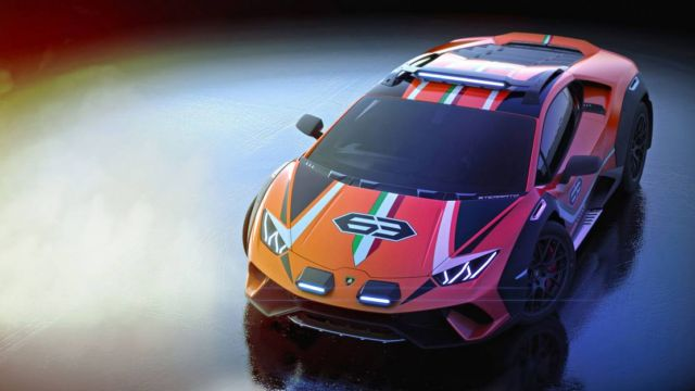 Lamborghini Huracan Sterrato Rally car (3)