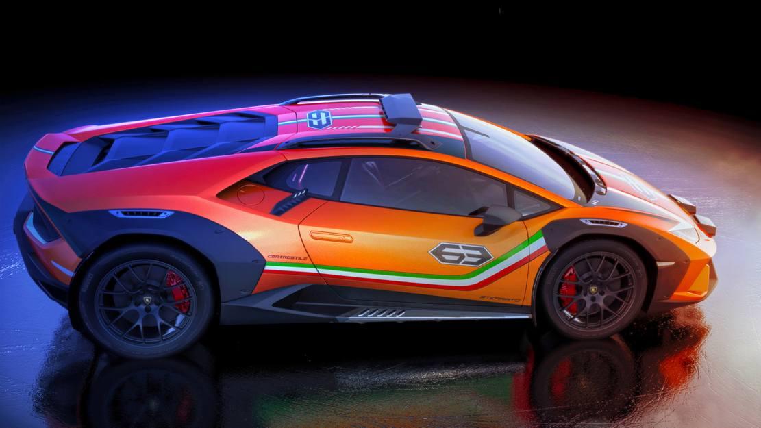 Lamborghini Huracan Sterrato Rally car (2)
