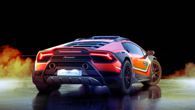 Lamborghini Huracan Sterrato Rally car (1)