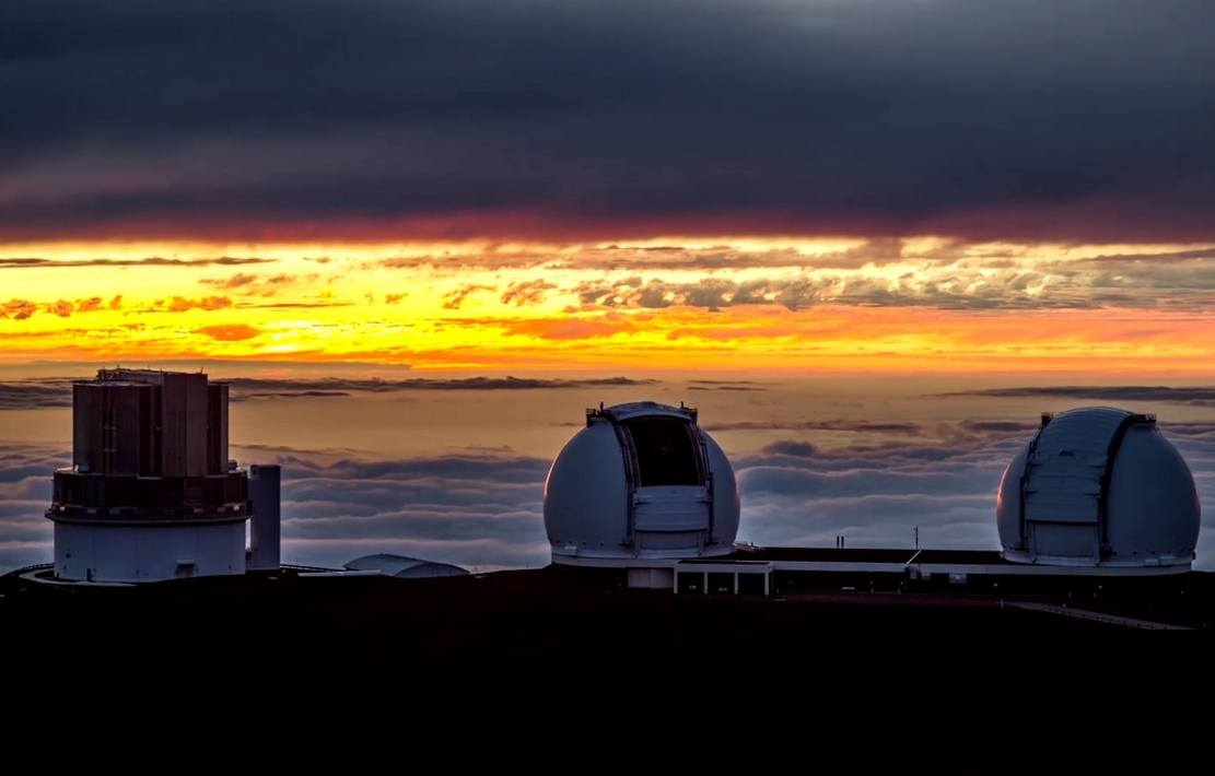 optical telescopes – Keck