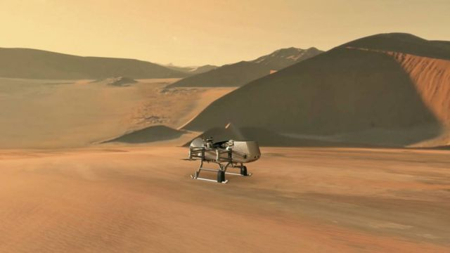 NASA Dragonfly Mission to Saturn's Largest Moon Titan