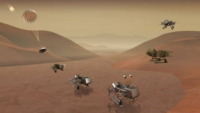 NASA Mission to Saturn's Largest Moon Titan