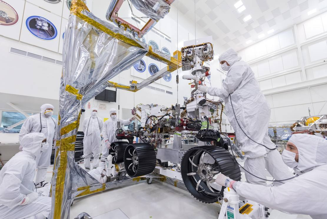 NASA put Wheels on Mars 2020 Rover