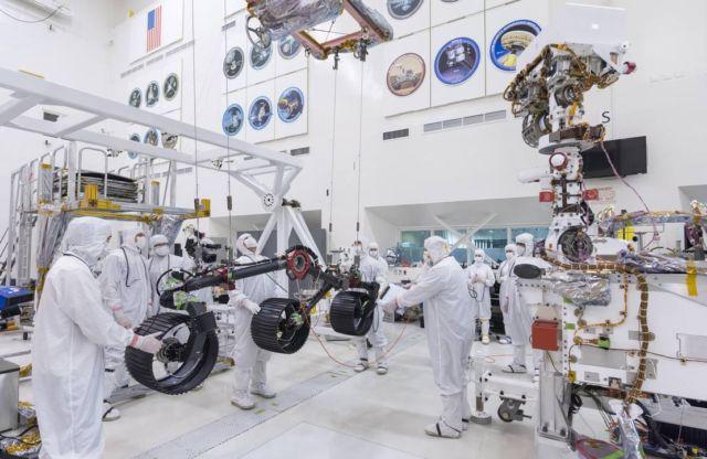 NASA put Wheels on Mars 2020 Rover