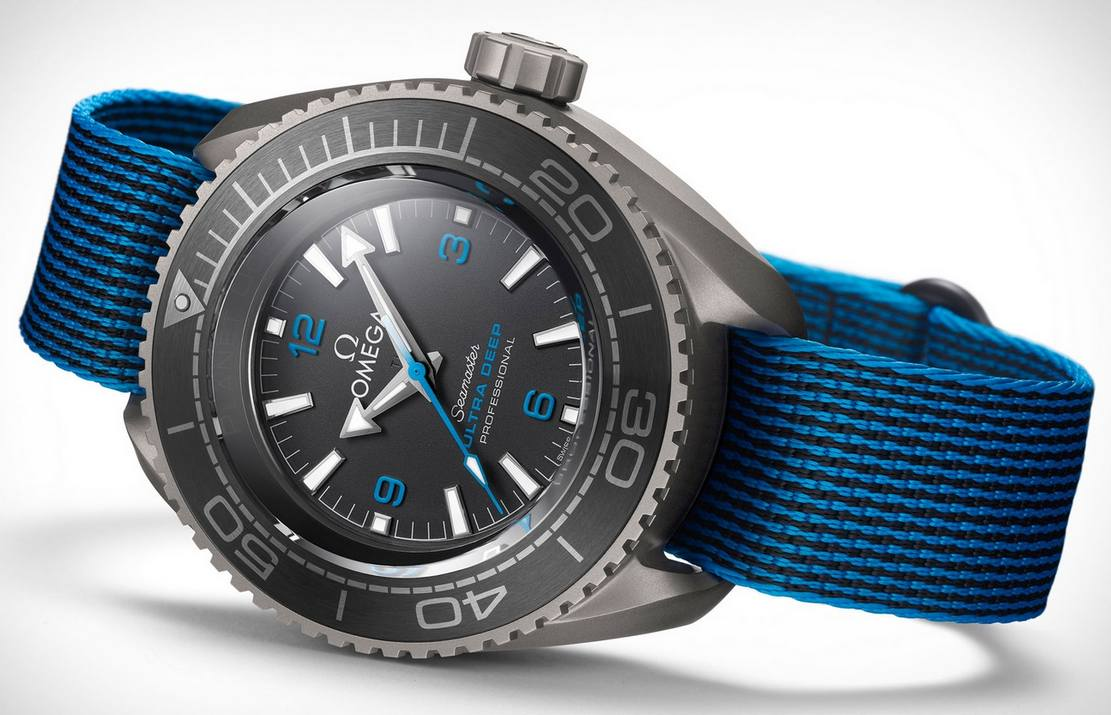 Omega Seamaster Planet Ocean Ultra Deep Watch