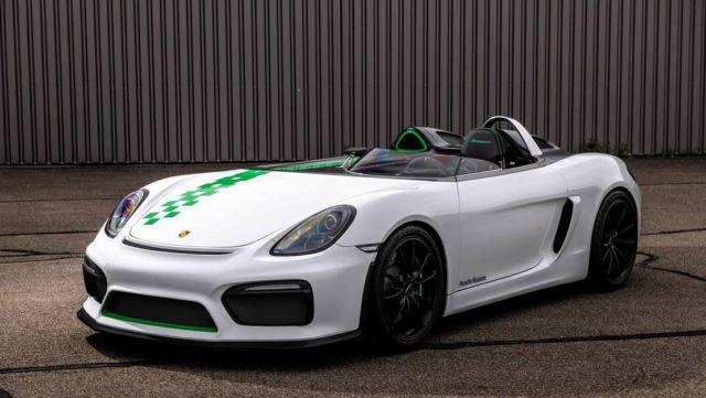 Porsche prototype Boxster Bergspyder