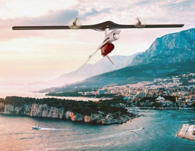 ROTORwing VTOL drone