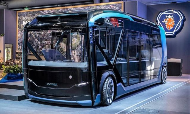 Scania NXT electric autonomous vehicle