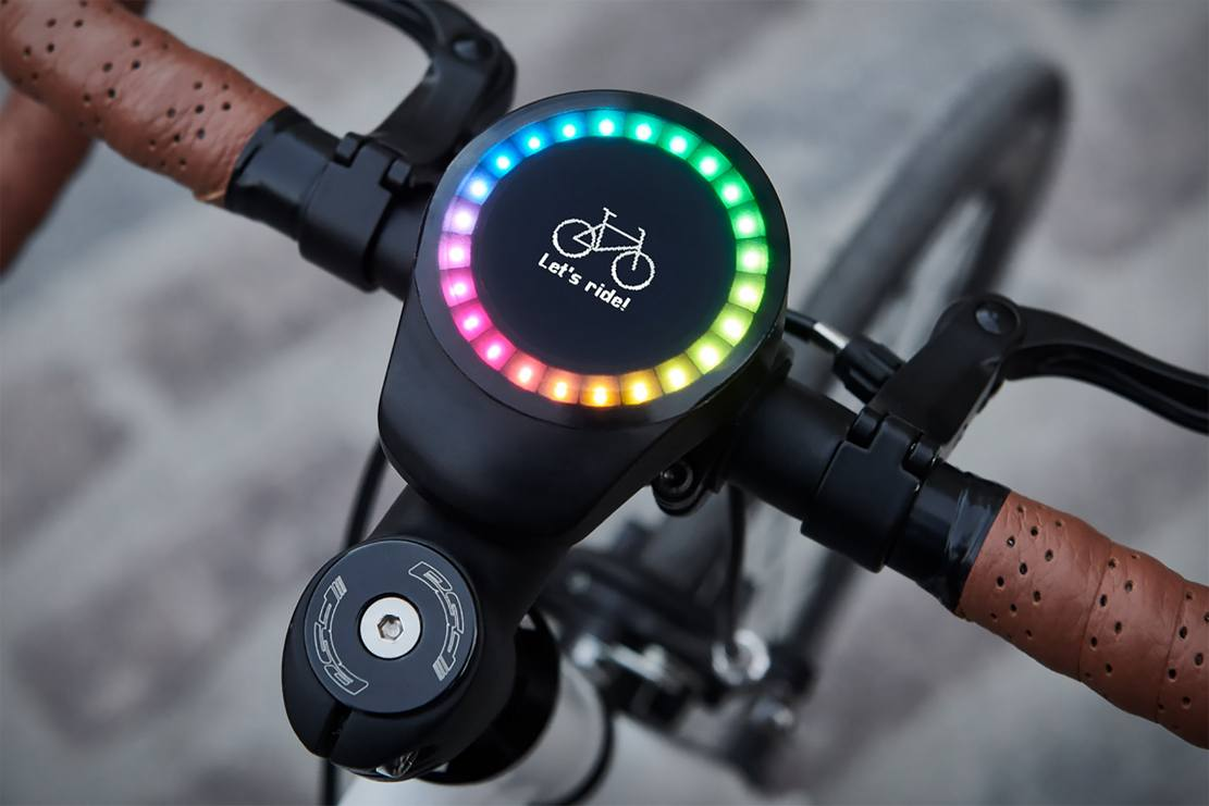 SmartHalo 2 minimalist smart biking device