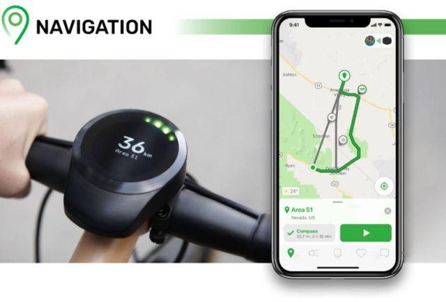 SmartHalo 2 minimalist smart biking device (1)