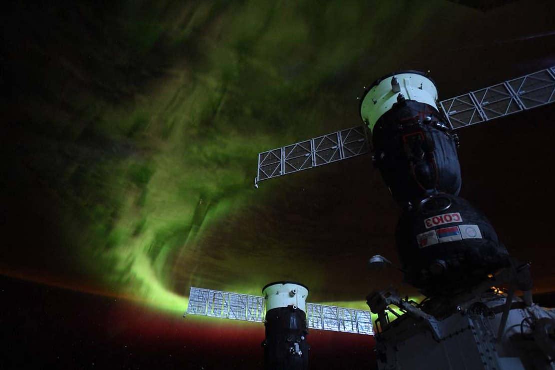 Stunning Aurora from the Space Station