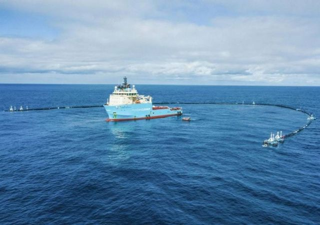 The Ocean Cleanup project is back in action
