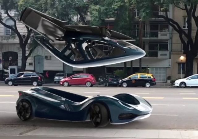 The Transvolution flying sports car (9)