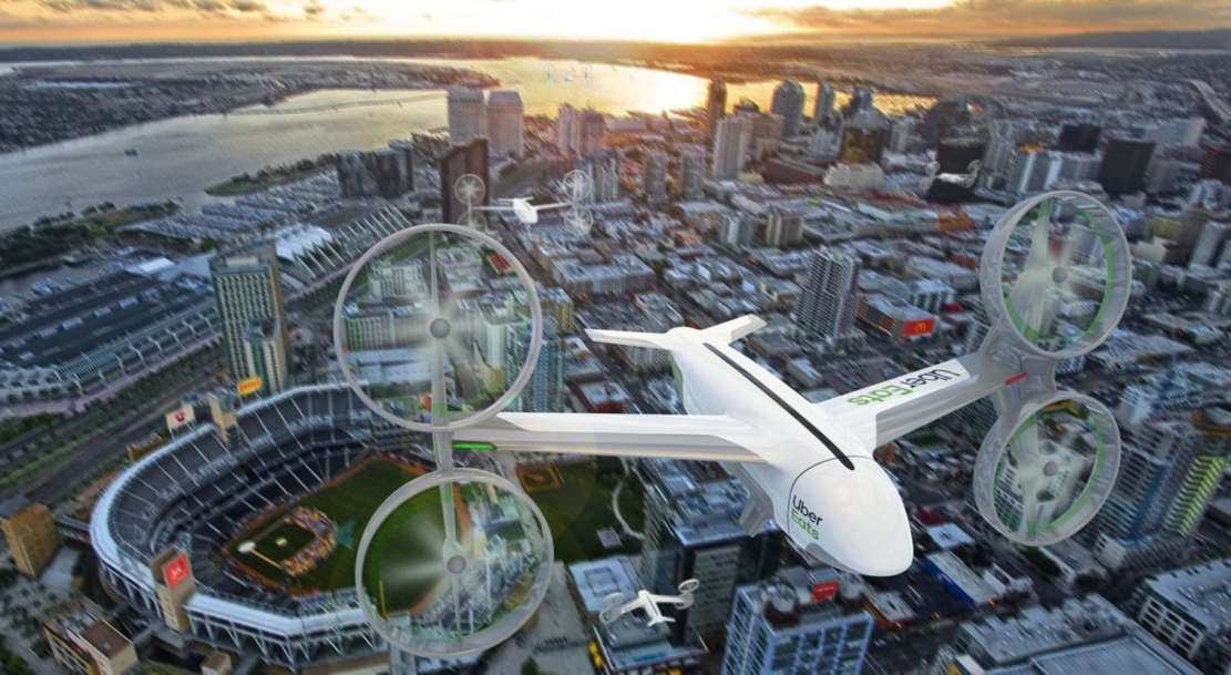 Uber plans to Deliver Food via Drone