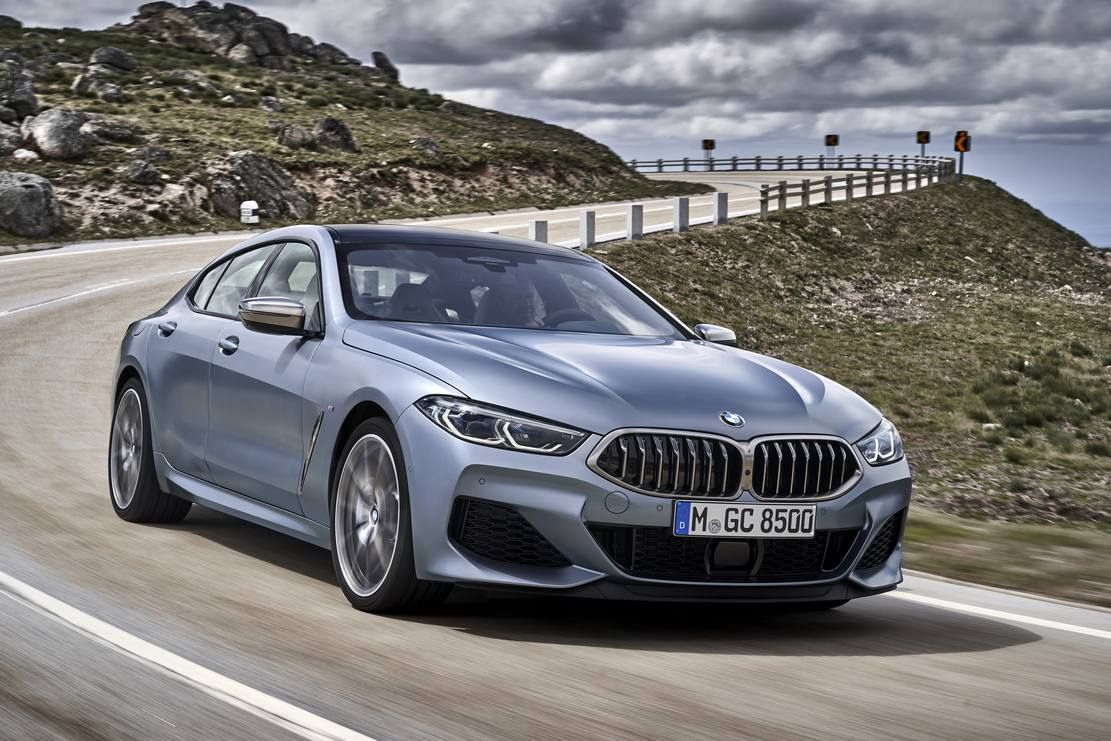 New BMW 8 Series Gran Coupe