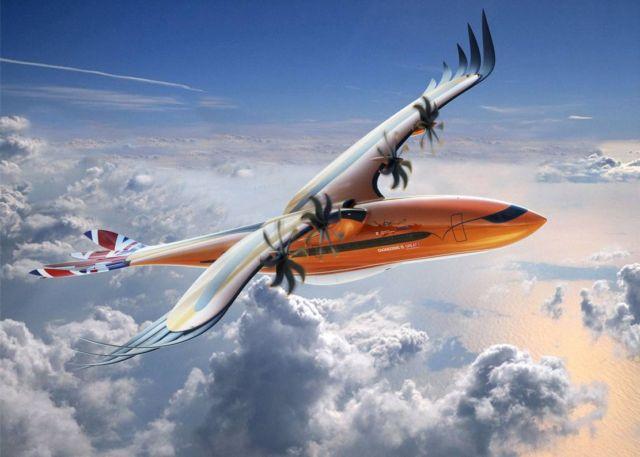 Airbus' Bird of Prey aircraft concept