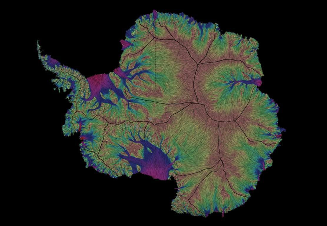 Antarctic Ice Mapped 10 times more accurately