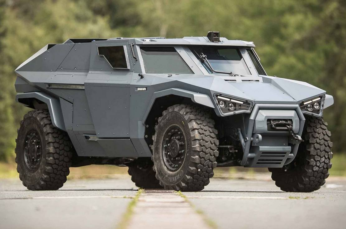 Arquus Scarabee Armored Vehicle