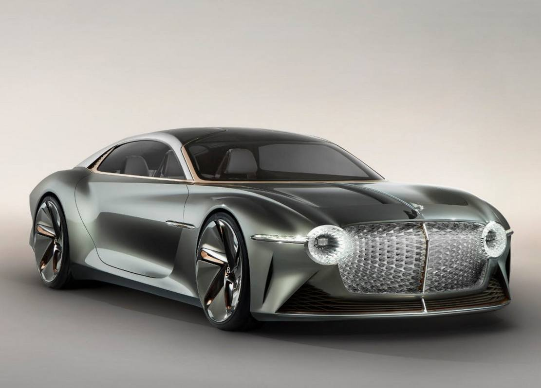 Bentley EXP 100 GT – τhe Future of Grand Touring