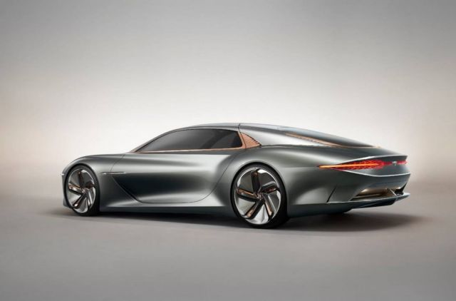 Bentley EXP 100 GT - τhe Future of Grand Touring