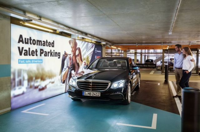 Bosch and Daimler obtain approval for Driverless Parking (3)