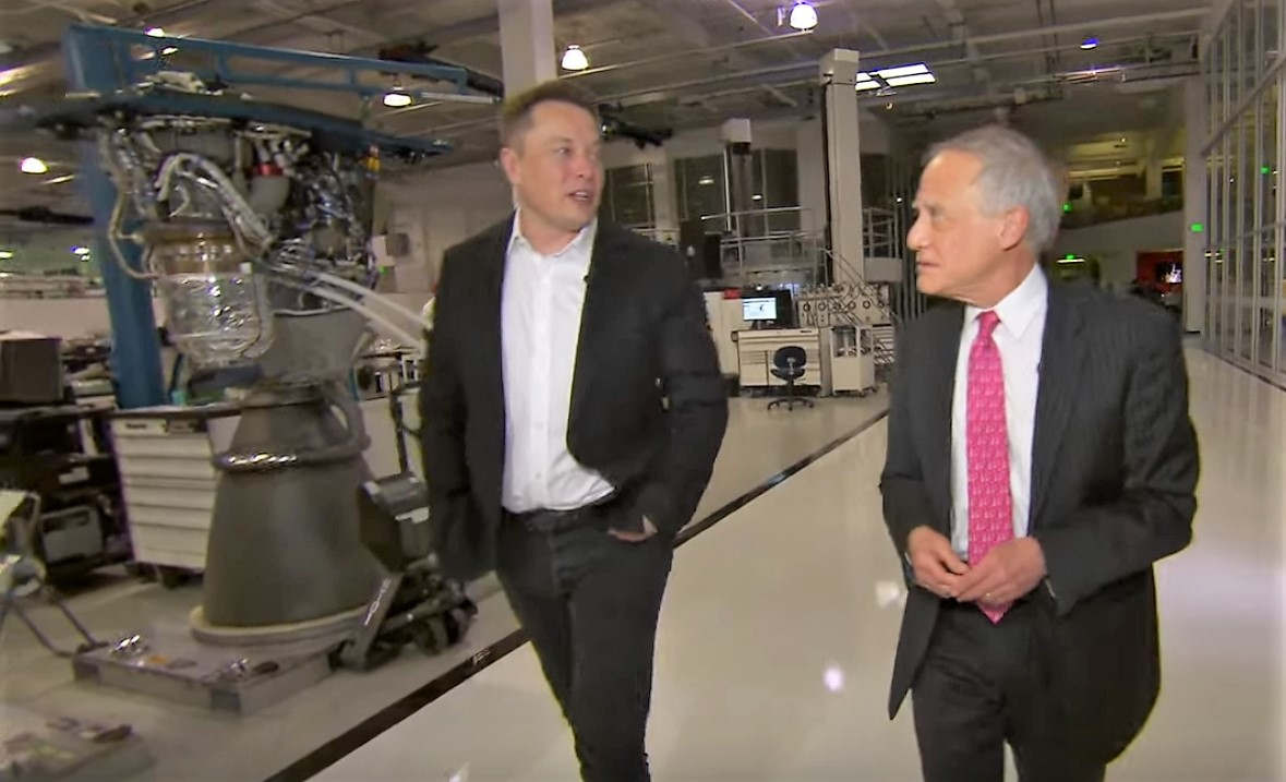 Elon Musk on the next Giant Leap for Mankind