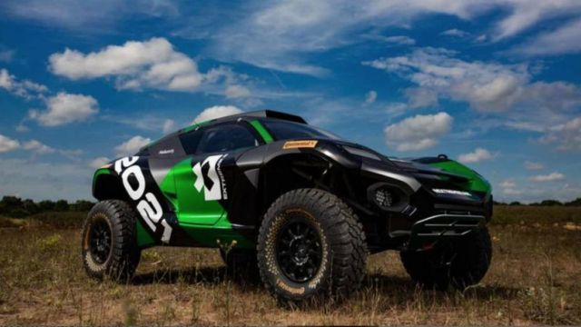 Extreme E Odyssey 21 racing electric SUV