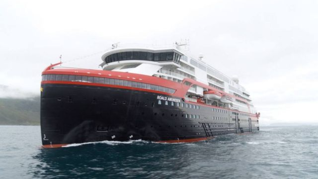 First ever Cruise Ship to sail on Battery power