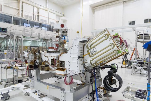 Fueling of Mars 2020 Rover Power System