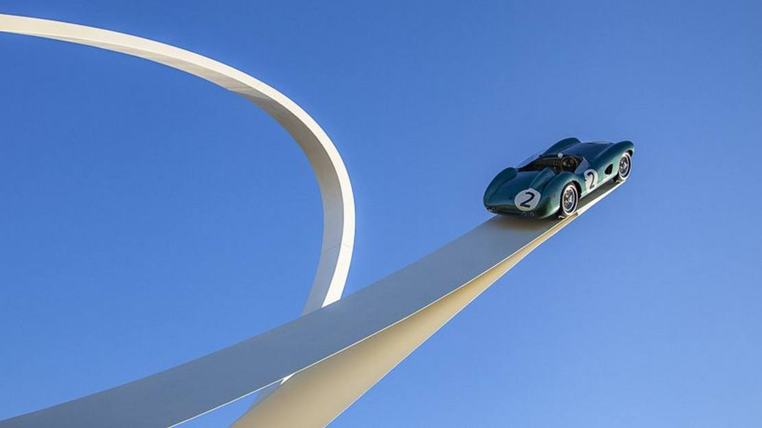Goodwood Festival of Speed 2019 by sculptor Gerry Judah (6)