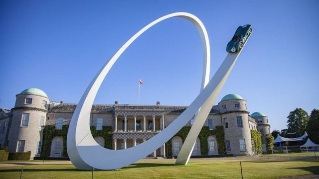 Goodwood Festival of Speed 2019 by sculptor Gerry Judah (5)