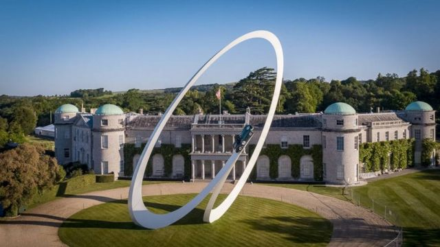 Goodwood Festival of Speed 2019 by sculptor Gerry Judah (4)