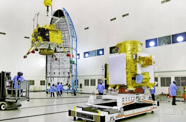 India successfully launches its first Lunar Lander