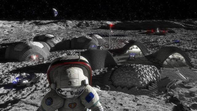 Lunar bricks could help us colonize the Moon