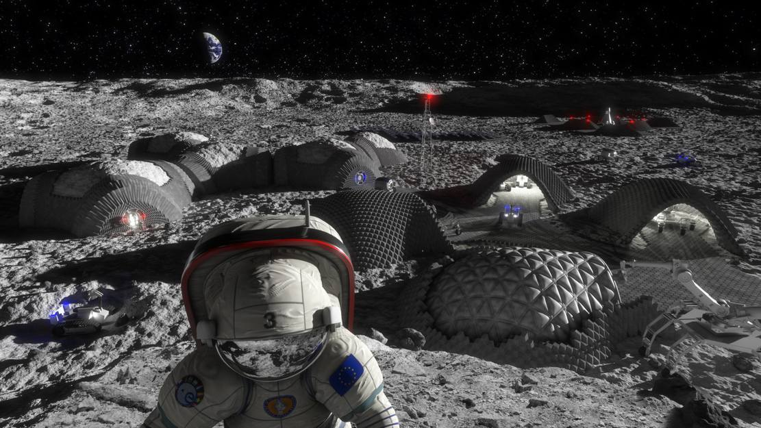 Lunar bricks to colonize the Moon (4)