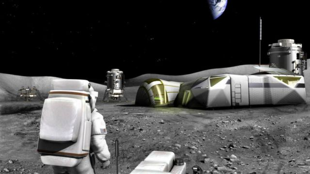 Lunar bricks to colonize the Moon (3)