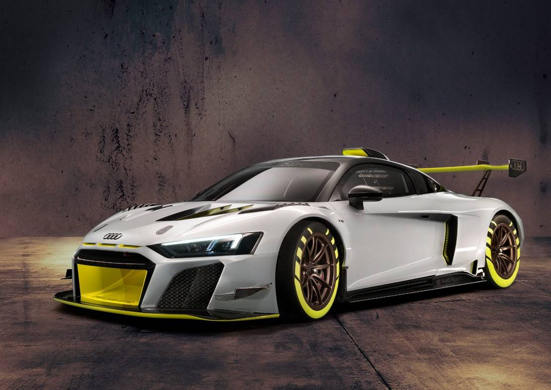 New Audi R8 LMS GT2