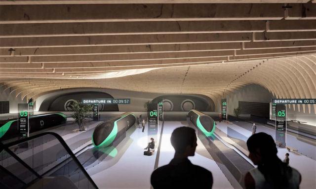 Passenger Experience on Delft Hyperloop