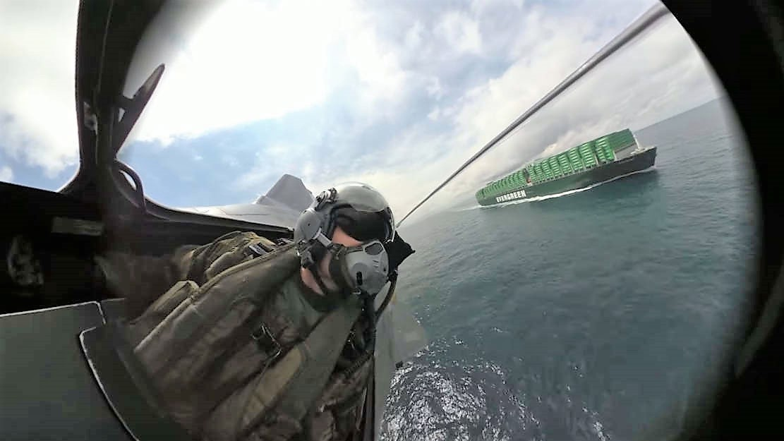 Stabilized 360-degree Camera on Rafale