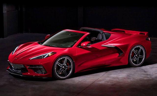 The 2020 Chevrolet Corvette Stingray